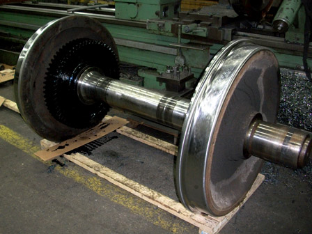 LOCOMOTIVE WHEELS RE-MACHINING  PROFILE - After
