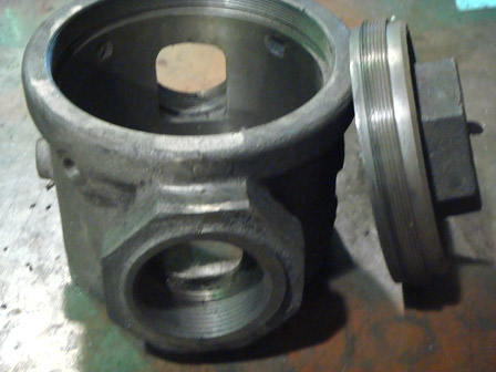 CASTED, MACHINED, TESTED & INSPECTED - 2.5inch NPT GAS PLUG VALVE